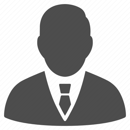 boss, businessman, customer, employee, manager, person, user profile icon