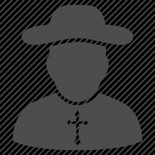 christian monk, church, cross, jesus, priest, religion, religious icon