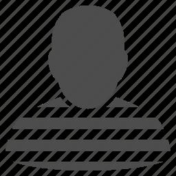 camera, closed, jail, judge, prison, prisoner, thief icon