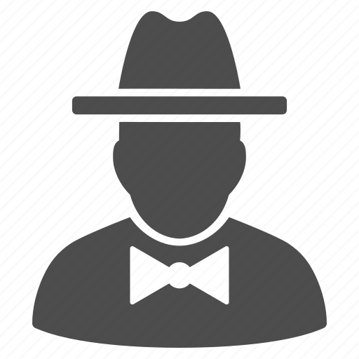 agent, detective, hacker, safety, secret service, spy, thief icon