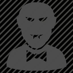 danger, devil, evil, halloween, monster, vampire icon