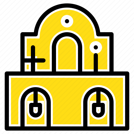 building, christmas, church, easter icon