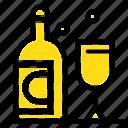 bottle, glass, ireland icon