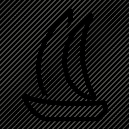 boat, cruise, sailing, yacht icon