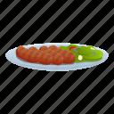 fish, food, greek, kitchen, party, sausage