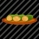 cucumber, fish, food, fruit, greek, summer