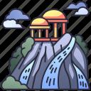 mountain, olympus, greek, greece, mythology, nature, landscape