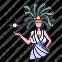 mythology, gorgon, medusa, myth, monster, snake, character