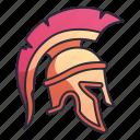 spartan, roman, helmet, greek, sparta, armor, warrior