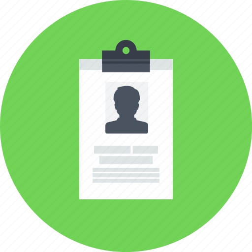 business, id card, identification, identity, pass, seo, working icon