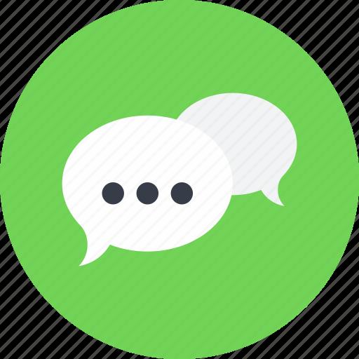 Chat, communication, conversation, description, message, online, speech bubble icon - Download on Iconfinder