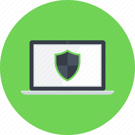 Computer, laptop, online, protection, security, shield, weapons icon - Download on Iconfinder