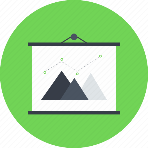 Analytics, business, chart, presentation, profits, statistics, stats icon - Download on Iconfinder