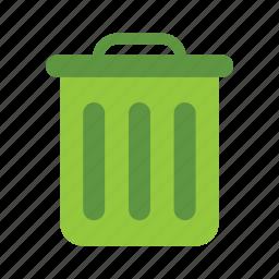 eco, ecology, energy, green, nature, trash icon