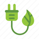 eco, ecology, energy, green, leaf, nature icon