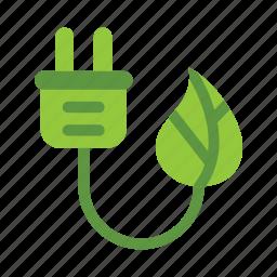 eco, ecology, energy, green, leaf, nature icon