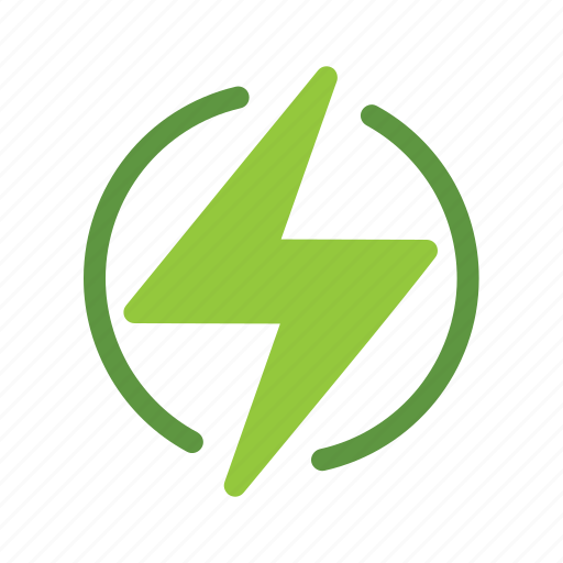 eco, ecology, energy, green, nature, power icon