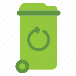 eco, ecology, energy, green, nature, trash icon