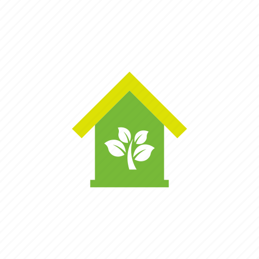 building, green icon