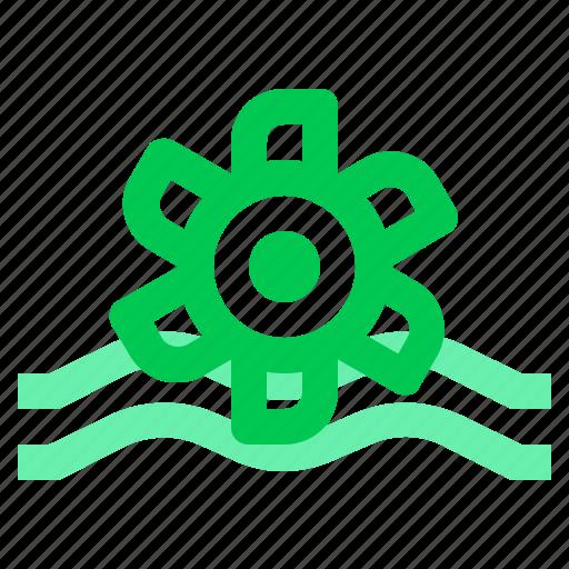 energy, green, turbine icon