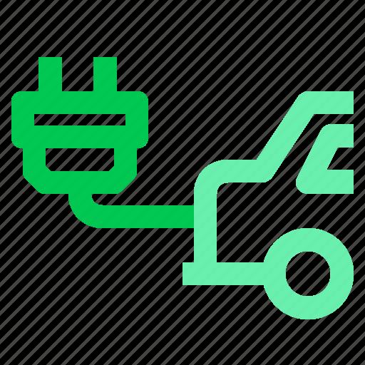 car, electric, energy, green, smart car icon