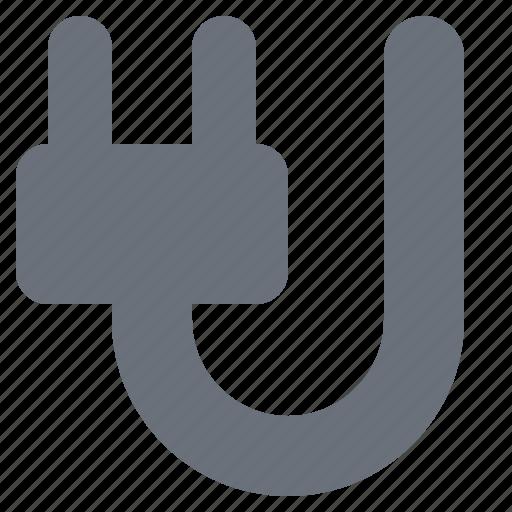 energy, environment, environmental, green, green energy, pika, plug, power plug, simple icon