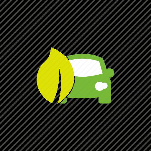 green, vehicle icon