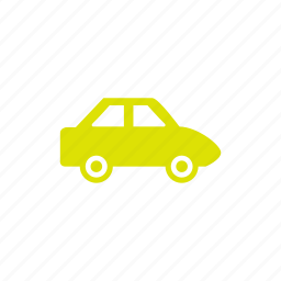 green, vehicle icon