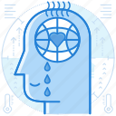 awareness, global, warming icon
