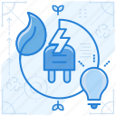 charge, electric, electricity, green icon