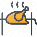 barbecue, bbq, chicken, food, grill, kfc, turkey icon
