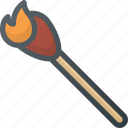barbecue, bbq, cooking, fire, grill, lighting, matches icon