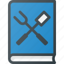 book, cook, cookbook, cooking, grill, kitchen, recipe icon
