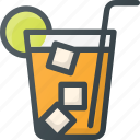 coctail, cold, drink, fresh, ice, lemon, summer icon