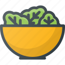 grill, salad, food, vegetarian, vegetable, party, letuce icon