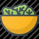 food, grill, letuce, party, salad, vegetable, vegetarian