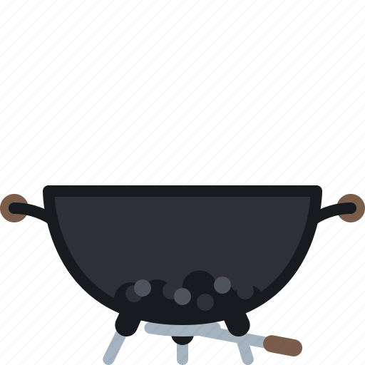 barbecue, briquettes, coal, cook, cooking, grill icon