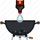 barbecue, briquettes, coal, cooking, grill, starter, yumminky icon