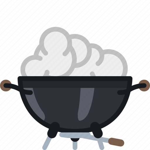 barbecue, cook, cooking, grill, smoke, steam, yumminky icon