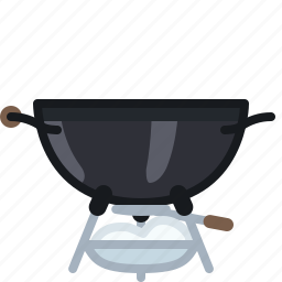 ash, barbecue, cooking, equipment, grill, spillage, yumminky icon
