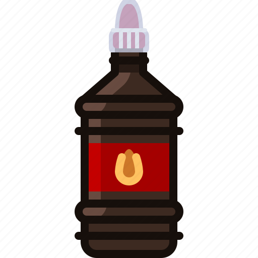 barbecue, bottle, burn, cooking, grill, starter icon