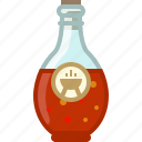 barbecue, bottle, chilli, cooking, grill, sauce icon