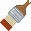 barbecue, brush, chilli, grill, painting, sauce, yumminky icon