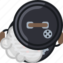 barbecue, cooking, embers, grill, lid, smoke icon
