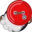 barbecue, cooking, grill, lid, smoke, steam, yumminky icon