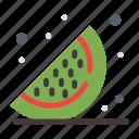 food, fruits, watermelon