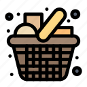 cart, grocery, items, kitchen, shopping