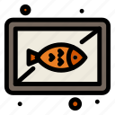 board, cook, dish, fish, seafood