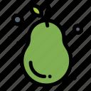 avocado, fresh, fruit, guava, pear