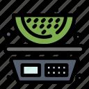 balance, food, fruits, watermelon
